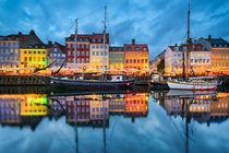 Nyhavn in Copenhagen von Michael Abid