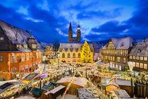 Christmas Market in Goslar, Germany by Michael Abid