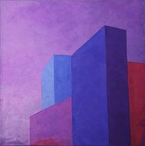 Urban landscape / Purple by Régine La Fata