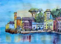 italienische Riviera von Gerhard Stolpa