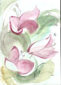 painting by Ioana  Candea