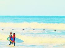 Ready To Surf by Vincent J. Newman