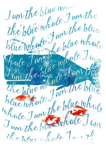 I am the Blue Whale by Sybille Sterk