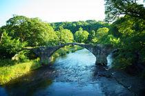 Cromwell's Bridge, Brandywine Brücke von Sabine Radtke