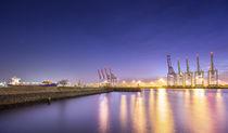 Hamburger Hafen IX von photoart-hartmann