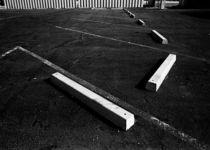 Phoenix Parking Lot 1975 by Ron Frazer