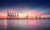 Hamburger Hafen X by photoart-hartmann