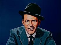 Frank Sinatra painting von Paul Meijering
