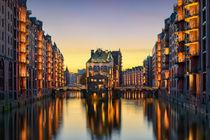 Wasserschloss in Hamburg, Germany by Michael Abid