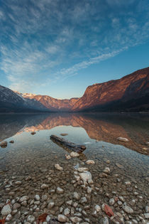 Bohinj's morning II by Bor Rojnik