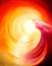 Seelenreise ins Licht - spirituelle Kunst von Marita Zacharias