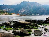 Beach in Galicia II von Carlos Segui