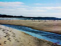 Beach in Galicia V von Carlos Segui