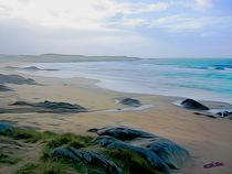 Beach in Galicia VIII von Carlos Segui