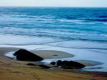 Beach in Galicia X von Carlos Segui