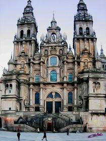 Cathedral of Santiago de Compostela von Carlos Segui
