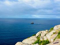 Coast Landscape Finisterre III von Carlos Segui