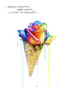 Rainbow Cone by Marina Manky