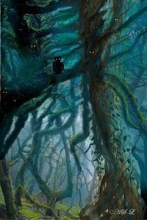 Der tiefe Wald by Heidi Schmitt-Lermann