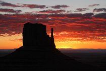 Monument Valley 5 von Bruno Schmidiger