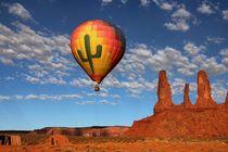 Monument Valley 3 von Bruno Schmidiger