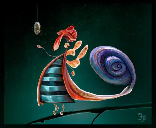 Snail-lady05