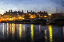 Westminster Bridge Art von David Pyatt