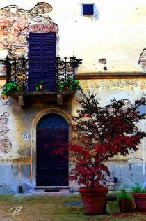 Symphatische Idylle, Italien -Likeable idyll, Italy- von Wolfgang Pfensig