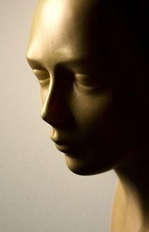 Perückenkopf ohne Perücke by Kamran von Kleist