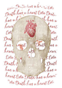 even death has a heart by Sybille Sterk