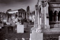 Kensal Green Cemetery 2 by David Hare