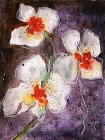 Orchideen-Aquarell von Chris Berger