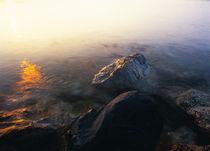 Orange Sun In Milky Waters by Evgeny Govorov