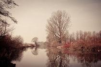 Flusslandschaft by Marianne Drews