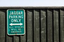 Jaguar car park von Joana Kruse