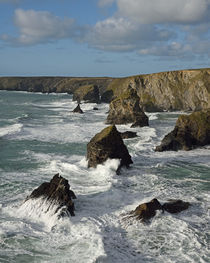Bedruthan Steps, North Cornwall by Paul Martin