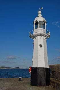Lighthouse at Mevagissey Harbour by Paul Martin