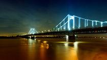 Rheinbrücke Duisburg by Daniel Heine
