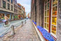Brugge-street-scene