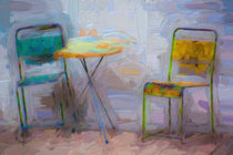 Table for two von Sheila Smart