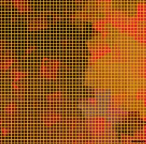 Yellow grid by badrig