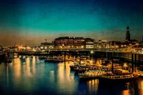 Hamburg at Night von Thomas Ulbricht