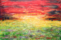 'Twilight Bounds Softly Forth on the Wildflowers' by Kume Bryant