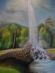 Geysir bei Andernach von Dorothy Maurus