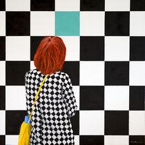 Grünes Quadrat by Karin Daum