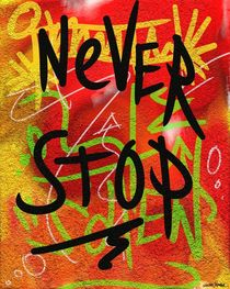 Never Stop by Vincent J. Newman