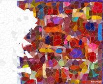 Abstrakte Mosaik #5 von badrig