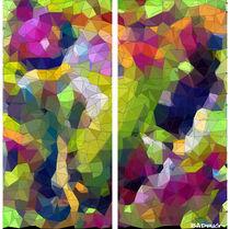 Abstrakte Mosaik #7 von badrig