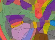 Abstrakte Mosaik #9 von badrig