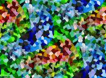 Abstrakte Mosaik #10 von badrig